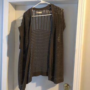Old navy boho knit vest